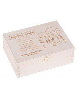 Pudełko na herbatę dla Babci i Dziadka