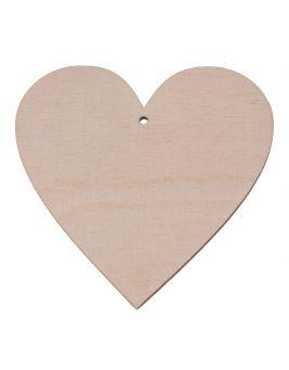 Drewniane serce 20x20cm