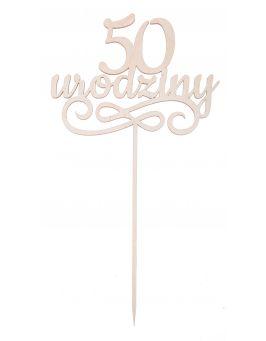 Topper - 50 urodziny
