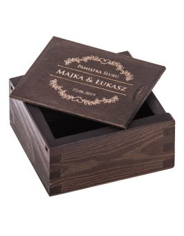 Pudełko na pendrive z grawerem