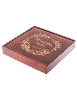 Pudełko na albuum/fotoksiążkę Z GRAWEREM