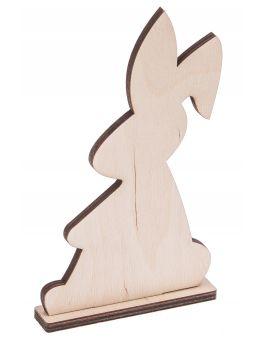Drewniany zajączek A1 - ŚREDNI