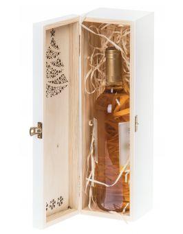 Skrzynka na wino skrzynka drewniana ŚWIĘTA