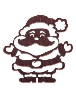 Bombka z imieniem ozdoby świąteczne choinkowe biała