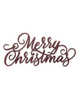"""Napis """"Wesołych Świąt"""" ze sklejki"""