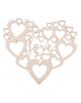 Dekoracje ślubne napis LOVE wesele ozdoby SERCE!!