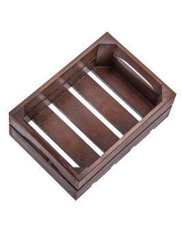 Skrzynka drewniana ozdoby ŚWIĄTECZNE prezent