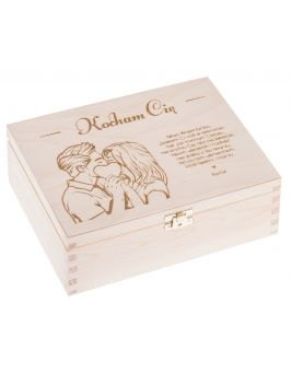 Pudełko na WALENTYNKI prezent