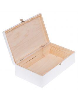 Pudełko na WALENTYNKI prezent białe